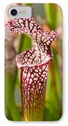 Plant - Pretty As A Pitcher Plant IPhone Case
