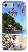 Playa Espadillia Sur Manuel Antonio National Park Costa Rica IPhone Case