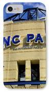 Pnc Park Baseball Stadium Pittsburgh Pennsylvania IPhone Case by Amy Cicconi