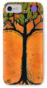 Poe Tree Art IPhone Case