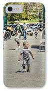 Police Shooting Pictures IPhone Case by Geoffrey Coelho
