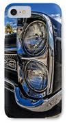 Pontiac Gto Convertible Ft Myers Beach Florida IPhone Case by Edward Fielding