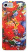 Poppies Gone Wild IPhone Case by Sherry Harradence