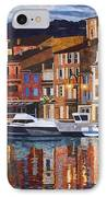 Port Of Cassis IPhone Case by Lenore Crawford