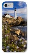 Portland Head Light IPhone Case by Brian Jannsen