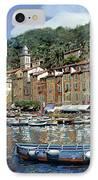 Portofino IPhone Case by Guido Borelli