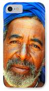 Portrait Of A Berber Man  IPhone Case