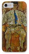 Portrait Of Paris Von Gutersloh IPhone Case by Egon Schiele