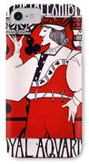 Poster For Art Metal Exhibition At The Royal Aquarium IPhone Case by Isobel Lilian Gloag