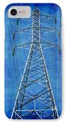 Power Up 1 IPhone Case by Wendy J St Christopher