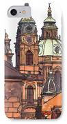 Prague 1 IPhone Case by Phil Robinson