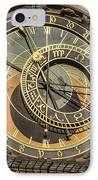 Prague Astronomical Clock IPhone Case by Joan Carroll