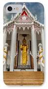 Pranburi Temple IPhone Case by Adrian Evans