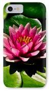 Pretty In Pink IPhone Case by Christi Kraft