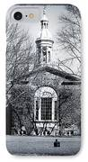 Princeton University IPhone Case by John Rizzuto