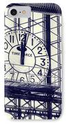 Principe Pio Clock IPhone Case by Joan Carroll