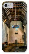 Priory Church Of St Seiriol IPhone Case by Adrian Evans