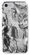 Procession Of Princes - Dresden Germany IPhone Case