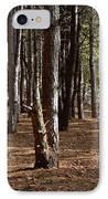 Provin Trails Park Forest IPhone Case by Richard Gregurich