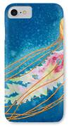 Psychadelic Jelly IPhone Case by Jeff Lucas