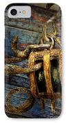 Pulley IPhone Case by Sari Sauls