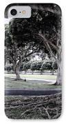 Punchbowl Cemetery - Hawaii IPhone Case by Daniel Hagerman