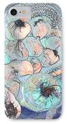 Pungent Overflow IPhone Case by Jean Noren