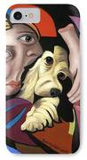 Puppy Love IPhone Case by Anthony Falbo