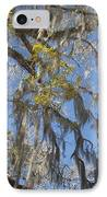 Pure Florida - Spanish Moss IPhone Case by Christine Till