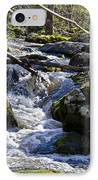 Pure Mountain Stream IPhone Case by Bill Cannon
