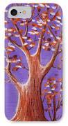 Purple And Orange IPhone Case by Anastasiya Malakhova