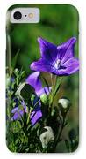 Purple Balloon Flower IPhone Case