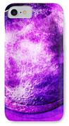 Purple Side Of The Moon IPhone Case by Mindy Bench