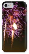 Purple Trees IPhone Case by Optical Playground By MP Ray