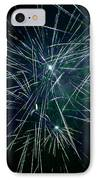 Pyrotechnic Delight IPhone Case by John Stephens