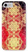 Quantum Cross Hand Drawn IPhone Case by Jason Padgett