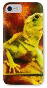 Queen Of The Reptiles IPhone Case