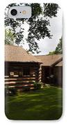 Quiet Cabin On A Hill IPhone Case by Robert Margetts