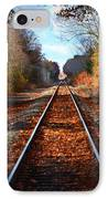 Rails IPhone Case by Tricia Marchlik