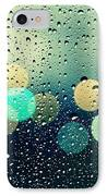 Rain And The City IPhone Case