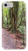 Rain Forest IPhone Case by Les Cunliffe