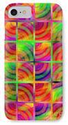 Rainbow Bliss 3 - Over The Rainbow V IPhone Case