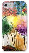 Rainbow Forest IPhone Case by Shilpi Singh