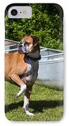 Ranger The Boxer IPhone Case by Stephanie McDowell