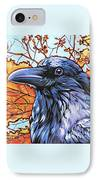 Raven Head IPhone Case