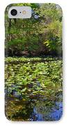 Ravine Gardens - A Different Look At Florida IPhone Case by Christine Till