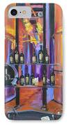 Raymond Vineyards Crystal Cellar II IPhone Case by Donna Tuten