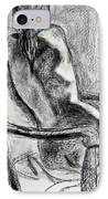 Reaching Out IPhone Case by Kendall Kessler