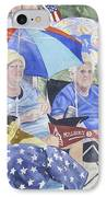 Ready For The Millbury Parade IPhone Case by Carol Flagg
