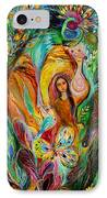 Rebecca Watered The Camels IPhone Case by Elena Kotliarker